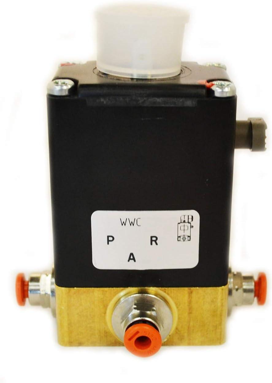 Wascomat - Válvula de desagüe activadora (220 V) 096070-O