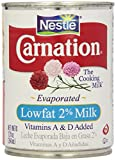 Carnation Evaporated Milk, Lowfat 2%, 12 Fl Oz