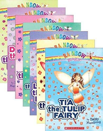 Tulip Petals (By Daisy Meadows The Petal Fairies Complete Set, Books 1-7: Tia the Tulip Fairy, Pippa the Poppy Fairy, Louise the Li [Paperback])
