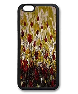 iPhone 6 plus (5.5 inch) - Slim - Lightweight - ultra-through - drop resistance silicone case, Black Cases, TPU material. Custom designs, According safflower field