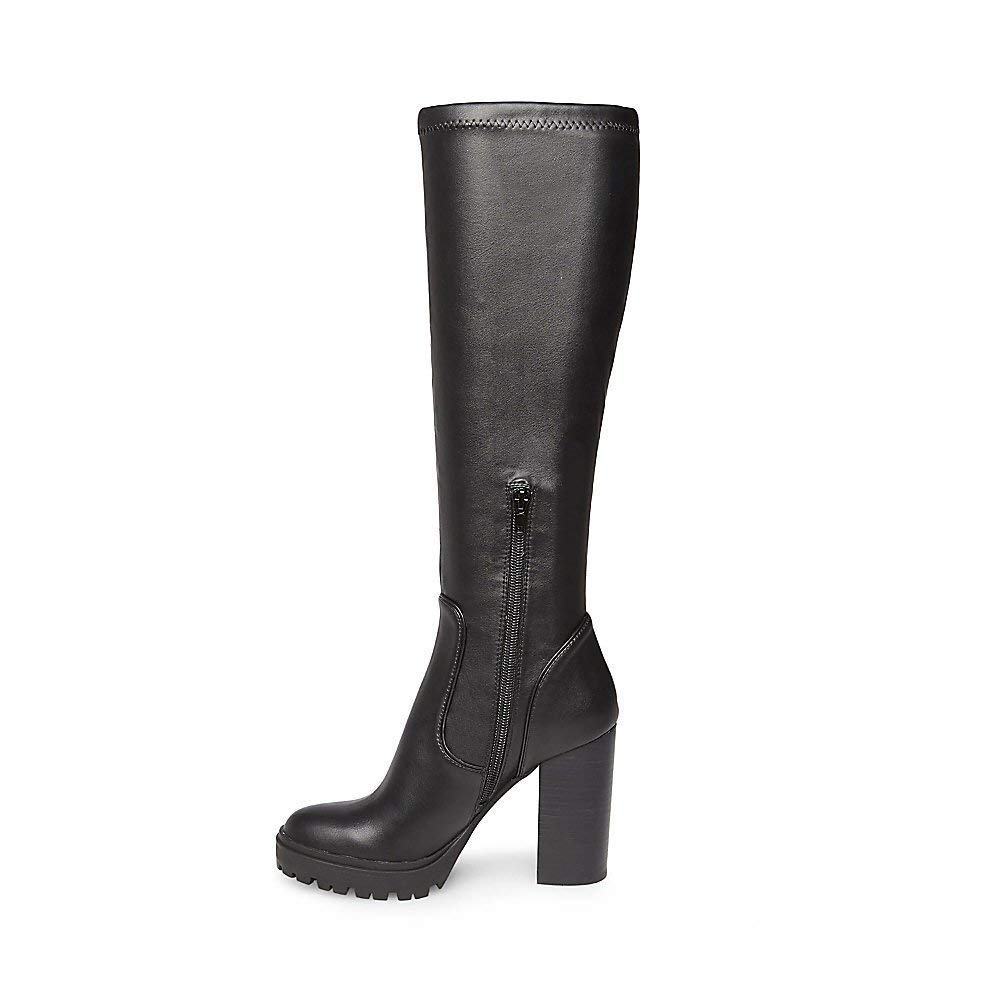 ebc1c88cacd Amazon.com | Steve Madden Womens Lately Closed Toe Knee High Fashion ...