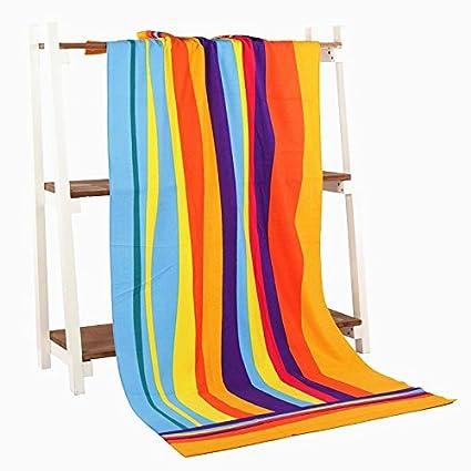YIHUA Juego de toallas de baño de microfibra de 70 x 145 cm de secado rápido