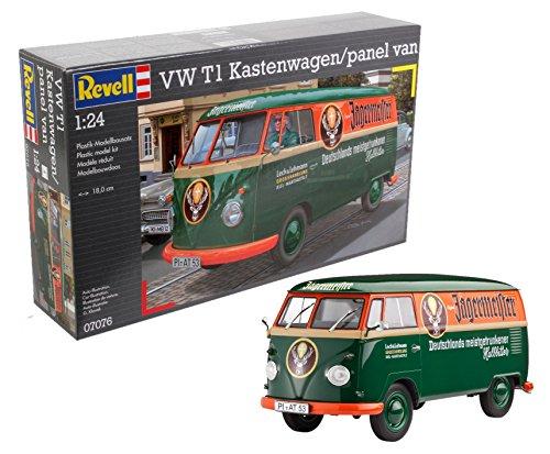 (Revell of Germany VW T1 Transporter (Kastenwagen) Plastic Model Kit)