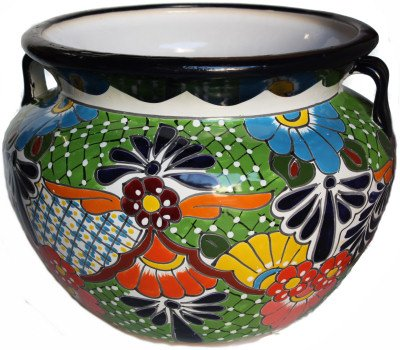 (Fine Crafts Imports Large Paracho Talavera Mexican Ceramic)