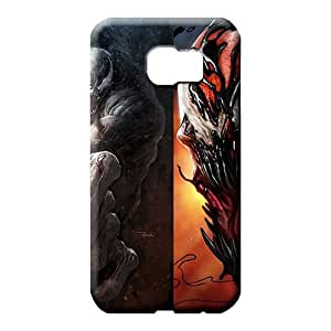 samsung galaxy s6 edge Abstact Covers colorful phone carrying cases venom vs carnage