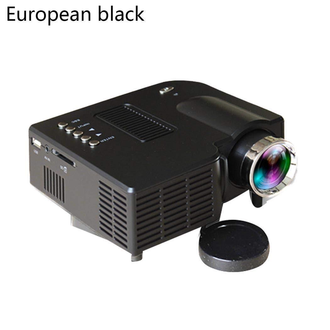 Retroprojecteur Supporte Full HD 1080P Vid/éoprojecteur Compatibles avec HDMI Projecteur VGA Kloius Videoprojecteur Portable 4000 Lumens AV USB Mini Projecteur avec 50,000 Heures