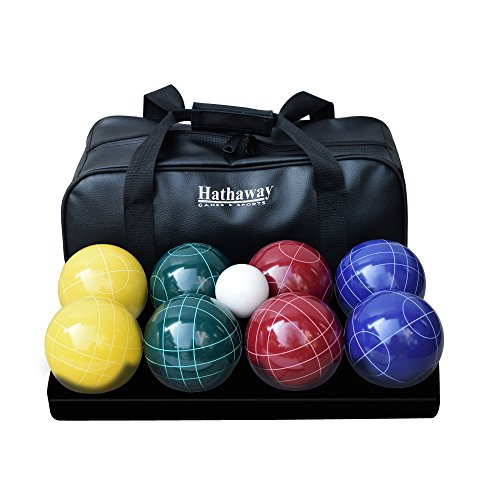 Ball Deluxe Set - Hathaway Deluxe Bocce Ball Set Multi