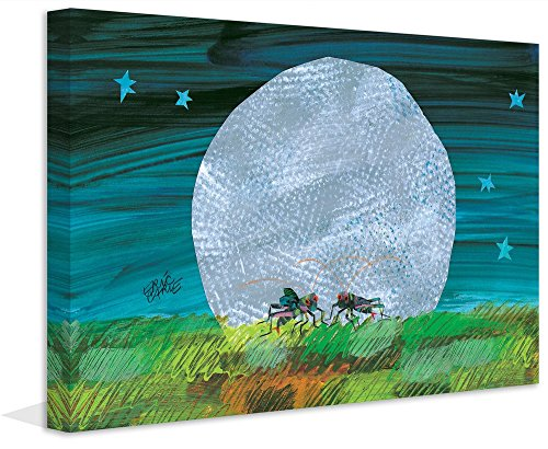 Eric Carle 'Cricket Moon' Painting Print on Wrapped Canvas, 30