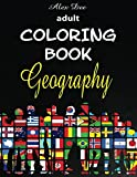img - for Adult Coloring Book: Geography (Stress Relieving Travel and Tourism Designs) book / textbook / text book