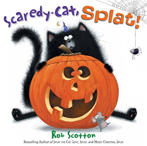 Scaredy-Cat, Splat! (Splat the Cat) - Easy Halloween Costume Ideas For School