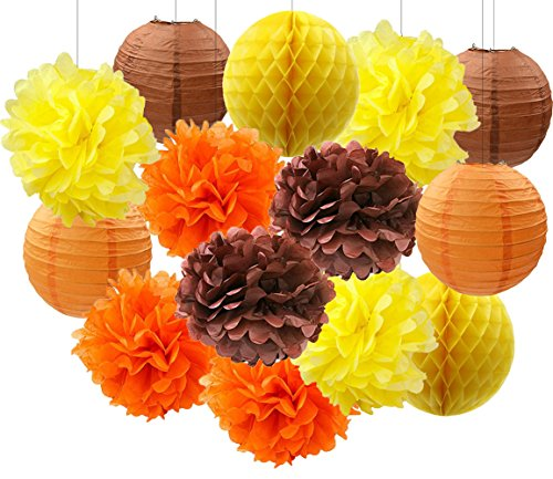 Wcaro Thanksgiving Decorations Fall Party Decorations Autumn Decorations
