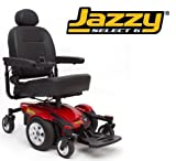 Pride Mobility JSELECT6 Jazzy Select 6 Electric Wheelchair - Blue