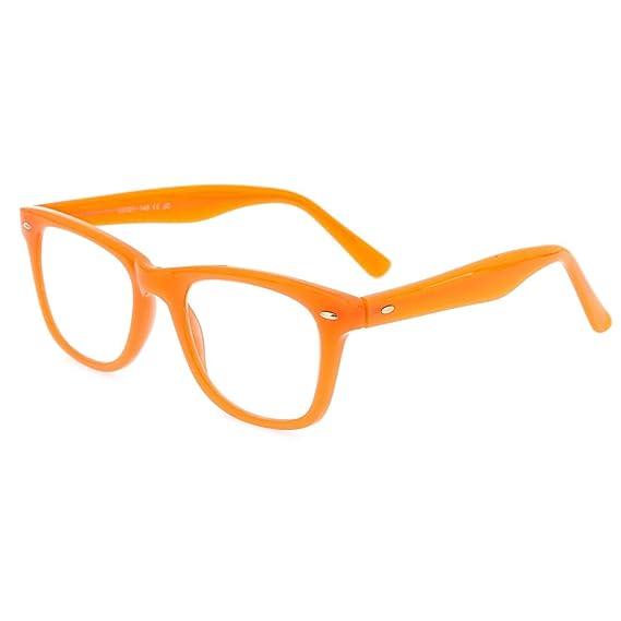 0fb6ba92e8 Didinsky Lunette loupe pour hommes et femmes. Lunettes de vue pour hommes  et femmes pour presbyte. Air Orange +1.5 - GETTY: Amazon.fr: Vêtements et  ...
