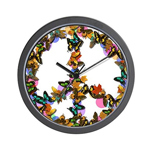 CafePress - Butterflies Peace Sign - Unique Decorative