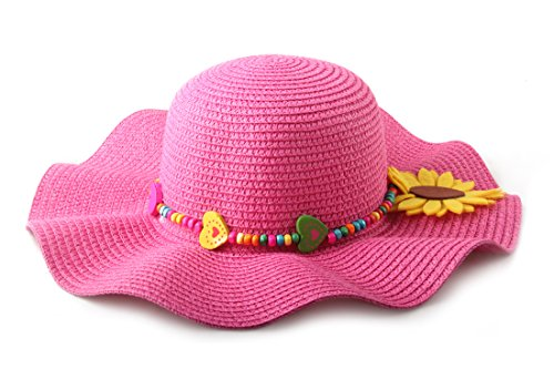Large Rose Sun Hat - 2