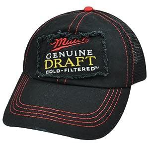 Miller proyecto filtrada fría cerveza malla arranview gorra rojo ...
