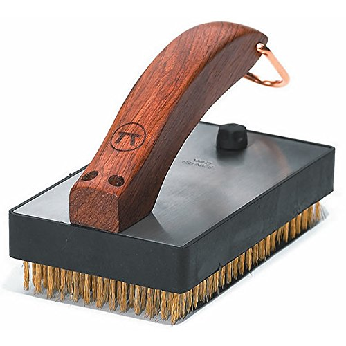 (Outset QB47 Rosewood Collection Oversized Grill Brush)