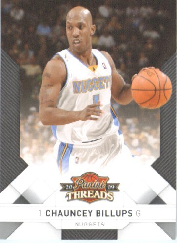 2009 /10 Panini Threads Basketball Card # 40 Chauncey Billups Denver Nuggets Mint Condition - Shipped In Protective ScrewDown Display Case! (Condition Mint Nuggets)