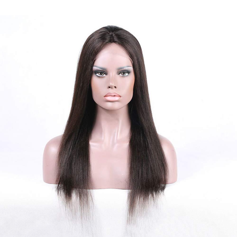 Yhjklm Perruque Respirante Perruque de Cheveux de Perruque Femelle Perruque Confortable (Taille : 16')