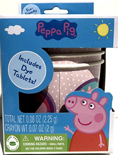 Peppa Pig Easter Egg Dye Decorating Kit with