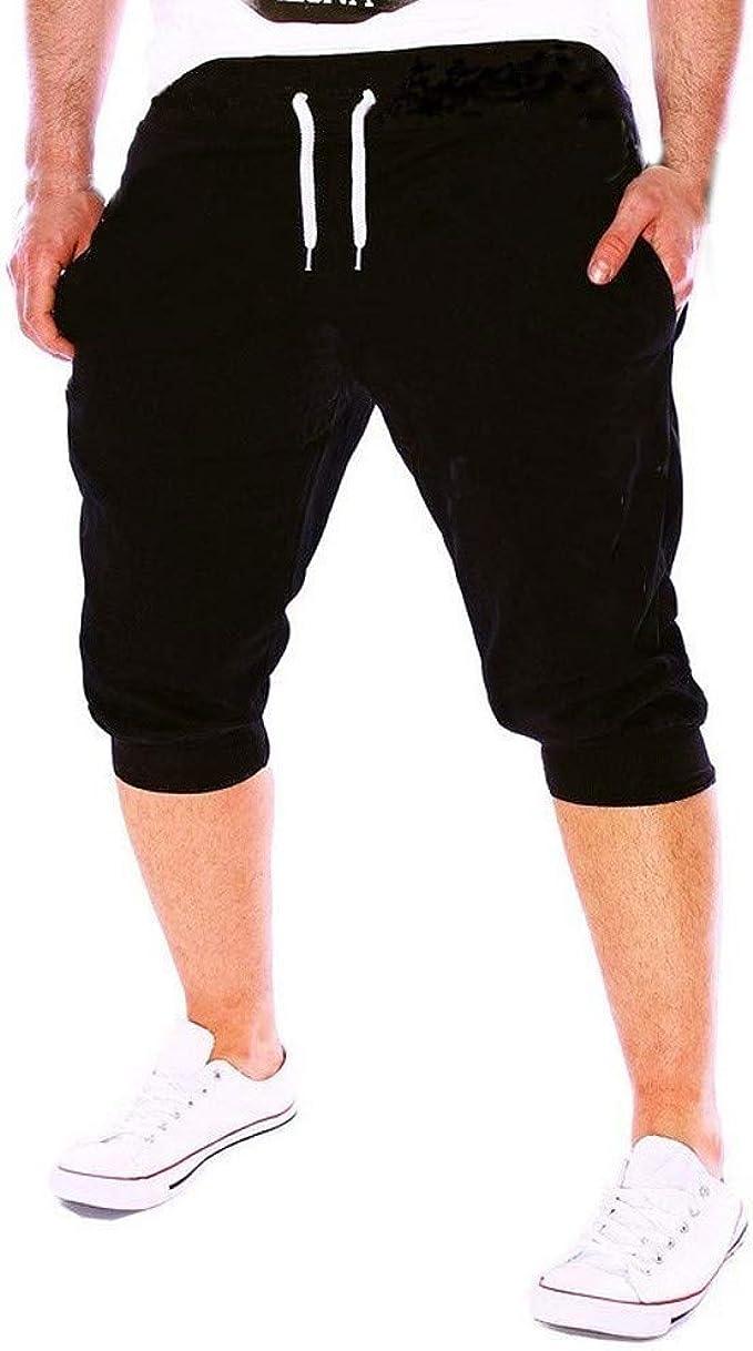 LGHOVRS Hombres Sueltos Pantalones para Otoño Invierno de ...