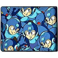 Bioworld Mega Man Sublimated Bi-Fold Wallet Faux Leather