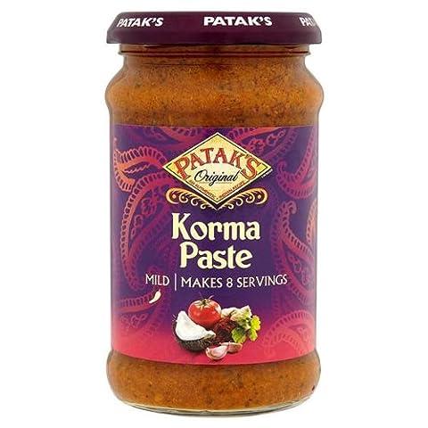 Patak's Korma Spice Paste 290g - Patak Curry Paste