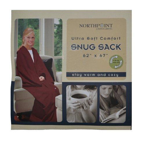 Northpoint Ultra Soft Snug Sack Fleece Blanket & Robe (Co...
