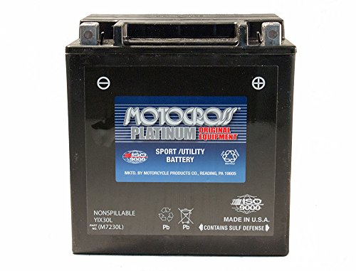 12V 30AH 385CCA Battery for Polaris 800 Ranger 2012-2014 by Unknown