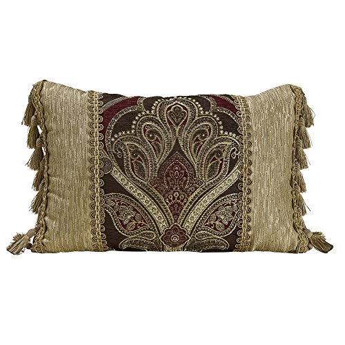 Croscill 2A0-536O0-0416/610 Bradney Boudoir Throw Pillow by Croscill