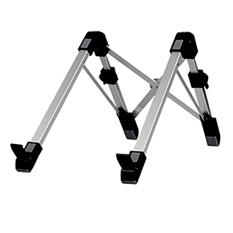 Homeofying - Soporte portátil Plegable de Aluminio para Ordenador portátil con disipación de Calor Negro