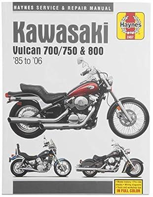 Haynes Manuals N/Amanual Kaw Vul 700 800 85 04 M2457 New