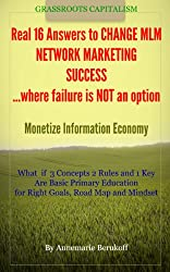 Real 16 Answers to Change MLM Network Marketing Home Business