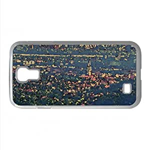 lintao diy Panorama of Zagreb, Gornji grad i Novi Zagreb Watercolor style Cover Samsung Galaxy S4 I9500 Case (Croatia Watercolor style Cover Samsung Galaxy S4 I9500 Case)