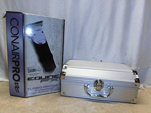Conair Pro Quine FX Turbo Groom II Professional Large Animal Clipper with Aluminum Storage Case