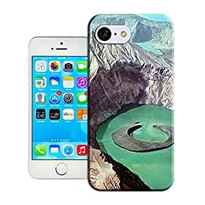LarryToliver Customize Protective Case Taal Volcano Luzon Philippines Back Cover Case for iphone 5C