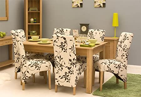 image unavailable image not available for colour mobel oak upholstered dining chair