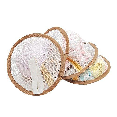WEKA BH Unterwäsche Tasche Netz Schaumbeutel Socken Hängende Maschen 3 Regal Tier Braun