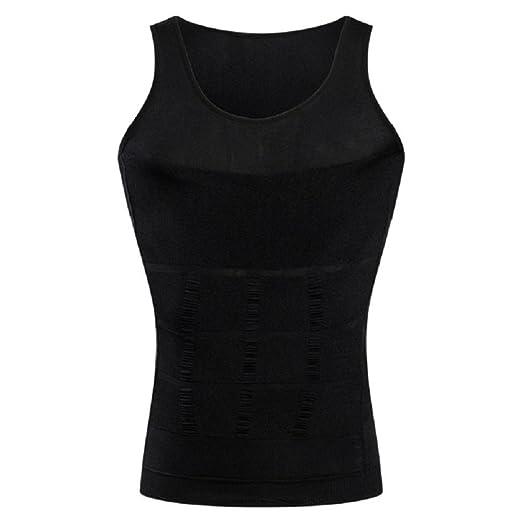 4304e6f186 Amazon.com  Stworld Mens Slimming Body Shaper Corset Vest Abs Abdomen  Bodysuit Undershirt  Clothing