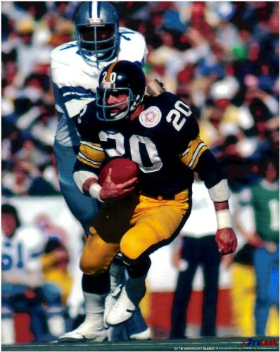 Rocky Bleier Pittsburgh Steelers Unsigned Licensed Football Photo