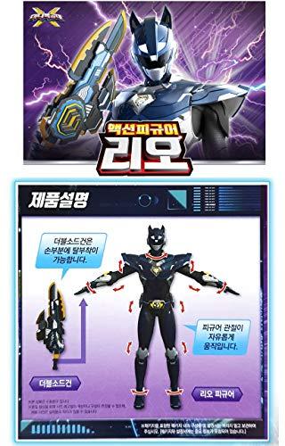 MINI FORCE Penta X-Bot Miniforce X Leo Korean Robot Action Figure Navy Color 6.9