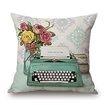 Lightinglife Cotton Pillow Cover Customizable Glamorous Grandma Glam-Ma Throw Pillows
