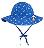 Jasmine Kids' Printed UPF 50+ Sun Protection Safari Bucket Sun Hat,12-24 Months