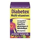 Webber Naturals Diabetex Healthy Blood Sugar Balance and Metabolism Multi Vitamin Tablets