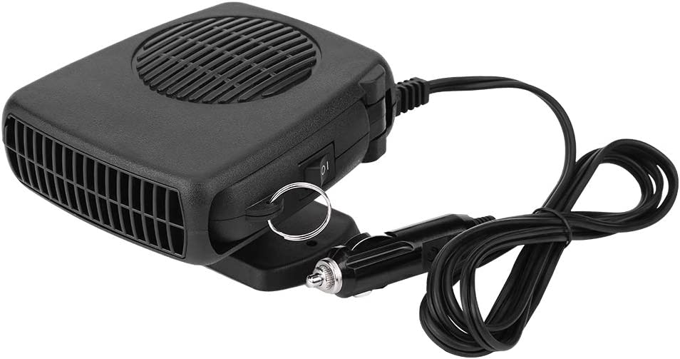 Car Heater, 12V 150W Car Portable 2 in 1 Ceramic Heating Cooling Heater Fan Defroster Demister Universal For Most Of Car