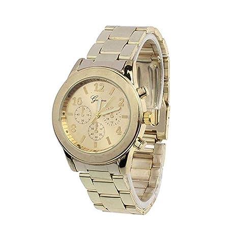 mujeres Relojes, moeavan Mujer Relojes Clearance Quartz Relojes en venta Acero Inoxidable Lady Mujer