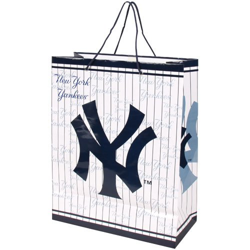MLB New York Yankees Gift Bag, Large (New York Yankee Gifts)