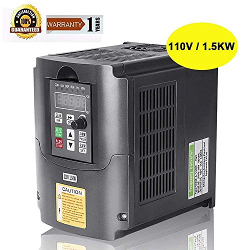 Cheap CNC 110V 1.5KW VFD Spindle Inverter 1500W Variable Frequency Drive Inverter Frequency Converter for Spindle Motor Speed Control By Beauty Star