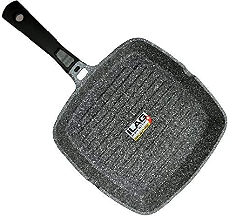 Coninx Grill Pan With Detachable Handle 100 Pfoa Free Square Griddle Nonstick