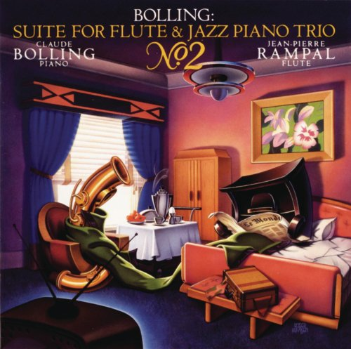Claude Bolling: Suite for Flute & Jazz Trio 2 (Jazz World Music Flute)